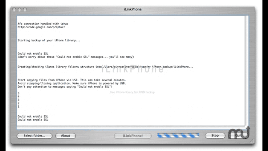 iLinkPhone for Mac - review, screenshots