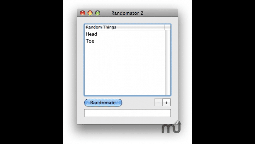 Randomator for Mac - review, screenshots