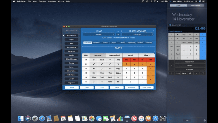 CalcVerter for Mac - review, screenshots