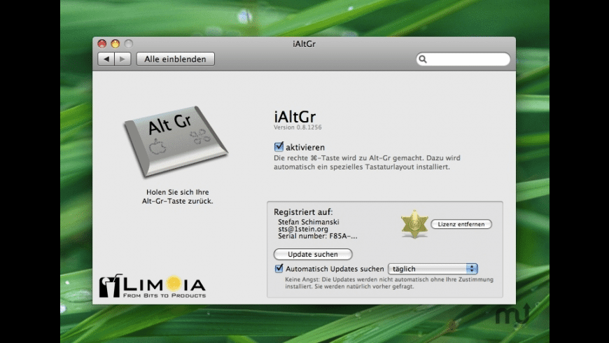 iAltGr for Mac - review, screenshots