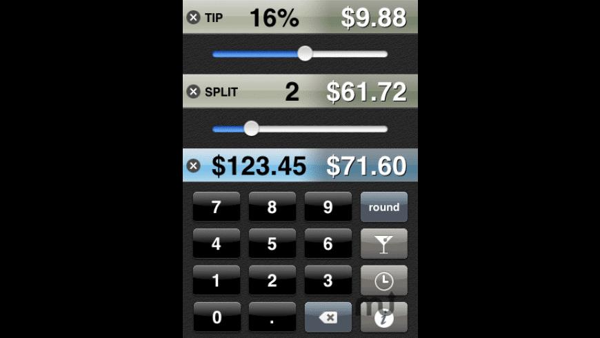 BigTipper for Mac - review, screenshots