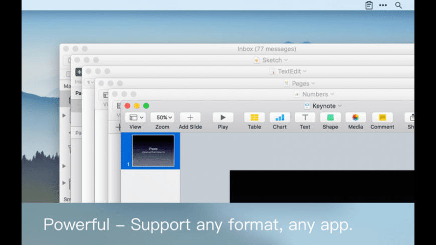 iPaste for Mac - review, screenshots