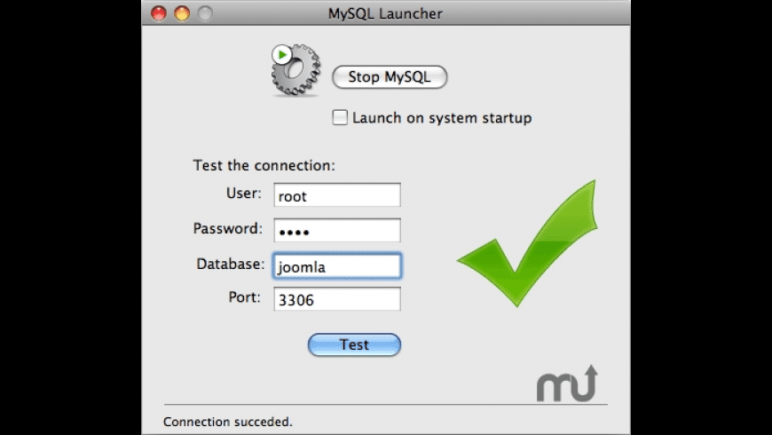 MySQL Launcher for Mac - review, screenshots