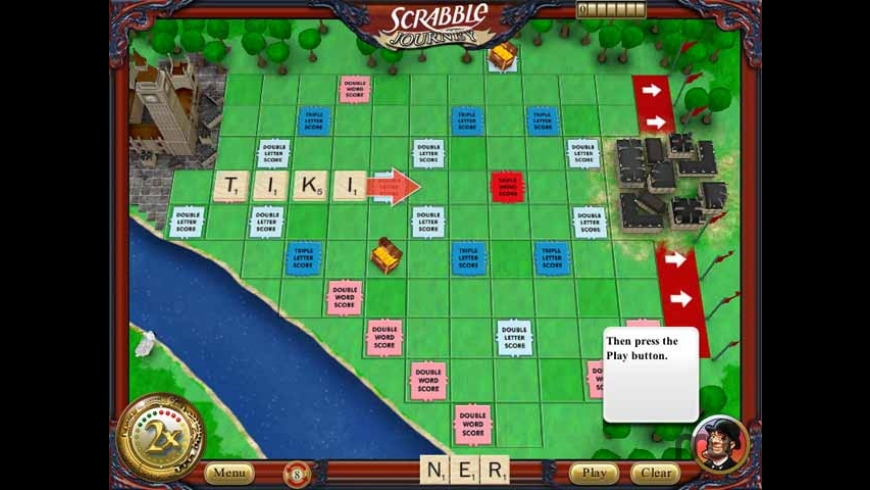 Scrabble Journey for Mac - review, screenshots