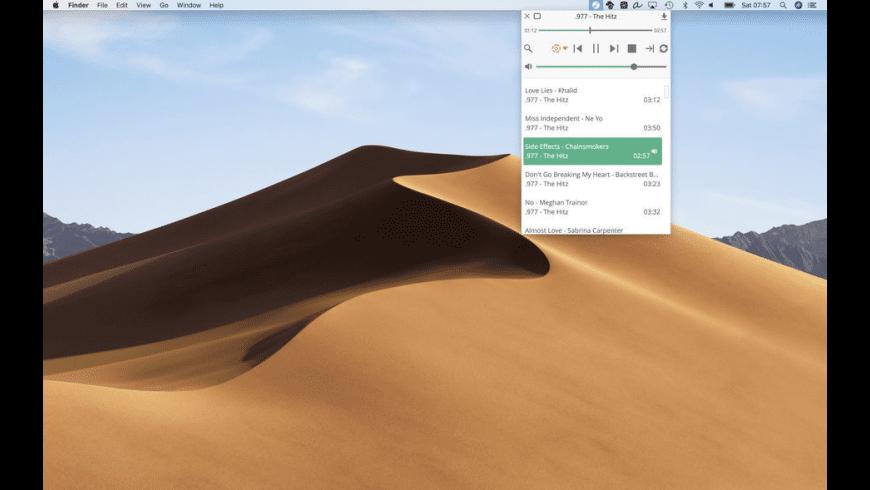 SonicWeb Internet Radio Player for Mac - review, screenshots