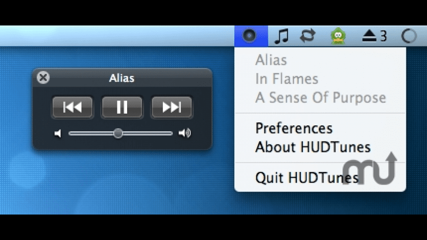 HUDTunes for Mac - review, screenshots