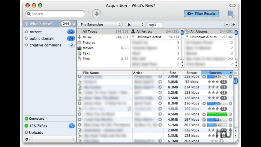 Acquisition for Mac - review, screenshots