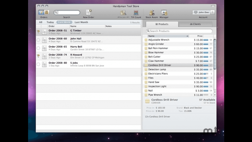 Checkout for Mac - review, screenshots