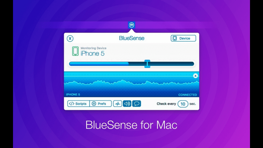 BlueSense for Mac - review, screenshots