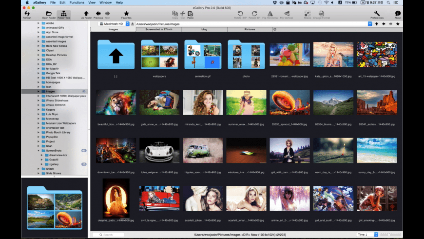 zGallery for Mac - review, screenshots