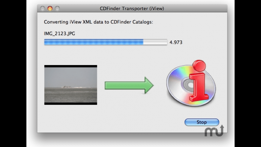 CDFinder Transporter for Mac - review, screenshots