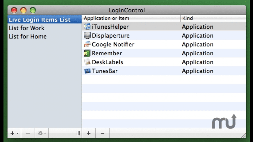 LoginControl for Mac - review, screenshots