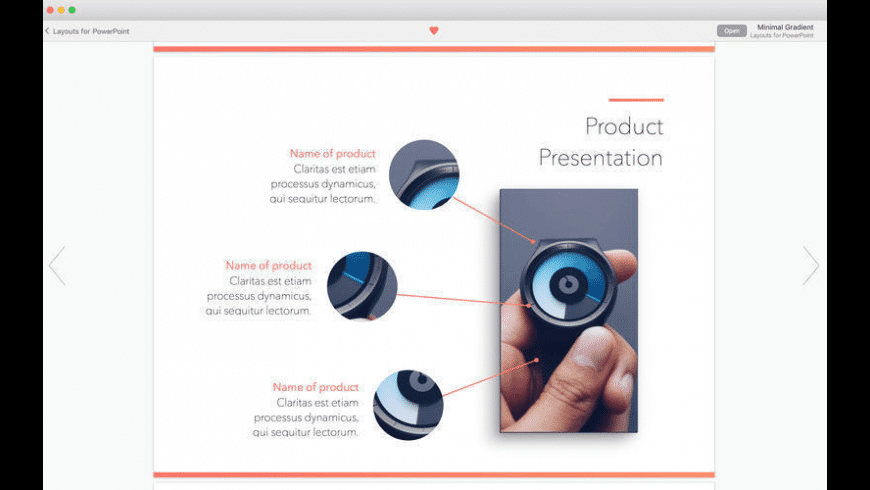 Templates Lab for MS PowerPoint for Mac - review, screenshots