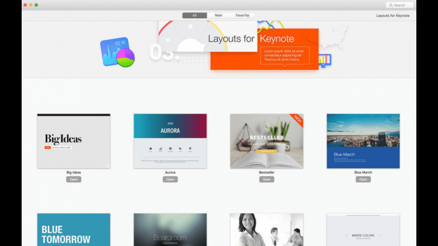 Layouts Lab for Mac - review, screenshots