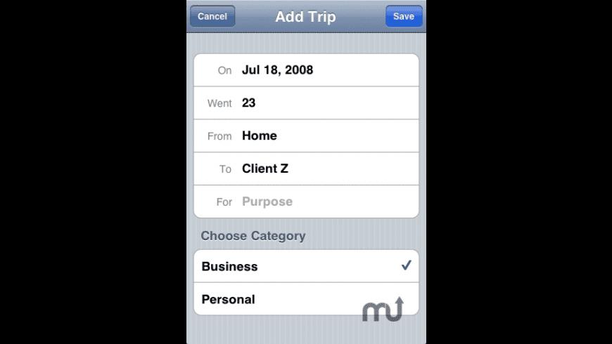 Tripometer for Mac - review, screenshots