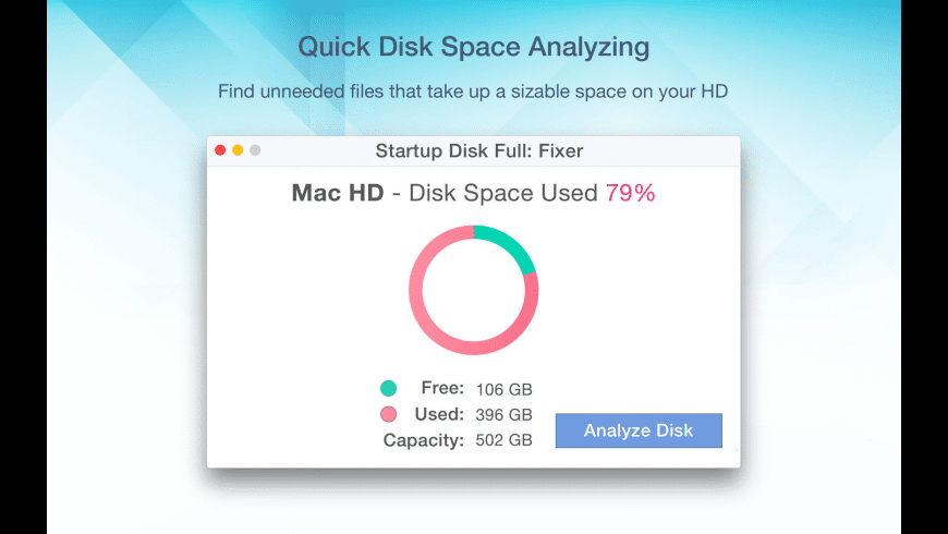 Startup Disk Full Fixer for Mac - review, screenshots