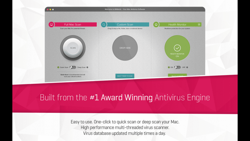 BitMedic Antivirus for Mac - review, screenshots