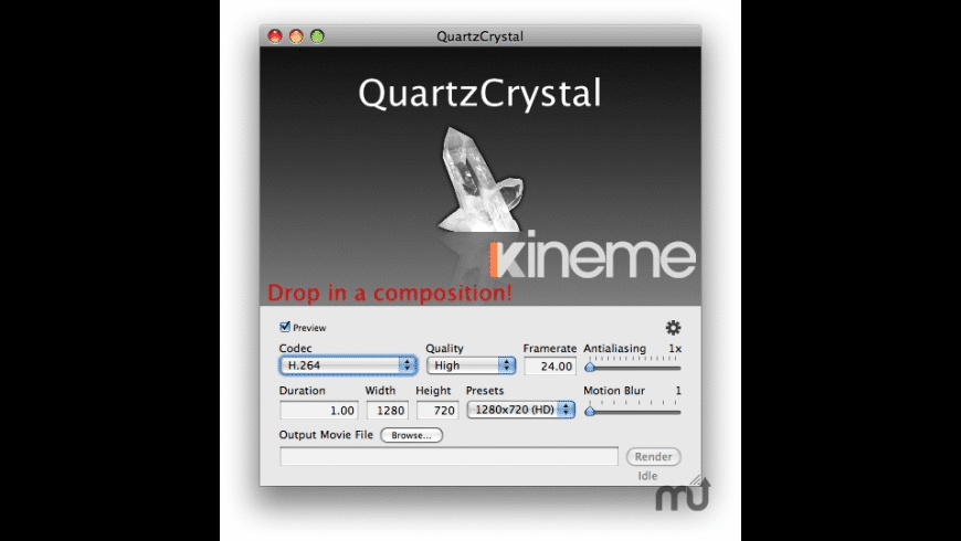 QuartzCrystal for Mac - review, screenshots