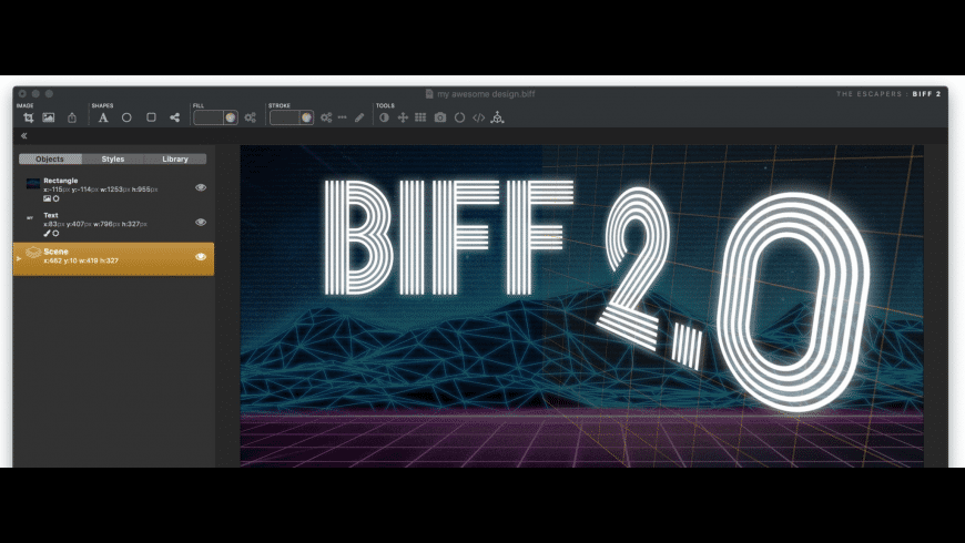 Biff for Mac - review, screenshots