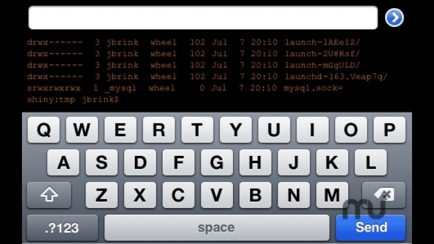 TouchTerm for Mac - review, screenshots