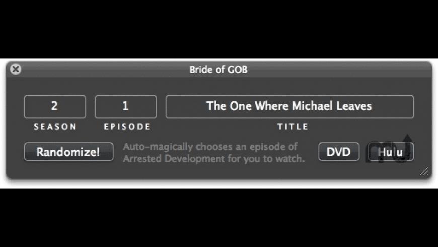 Bride of GOB for Mac - review, screenshots