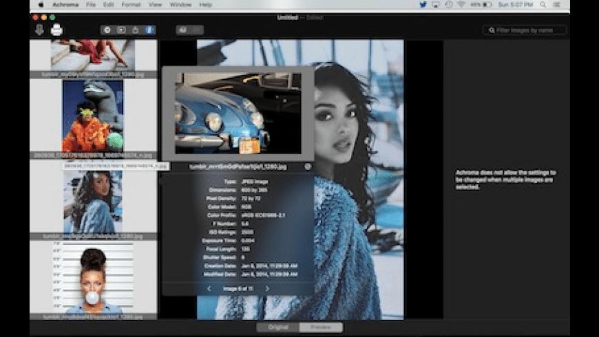 Achroma for Mac - review, screenshots