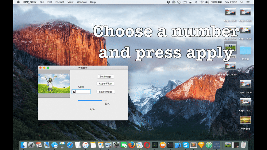 SPP Filter for Mac - review, screenshots