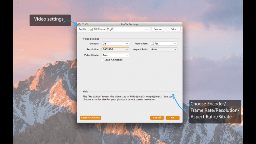 Video to GIF Maker for Mac - review, screenshots