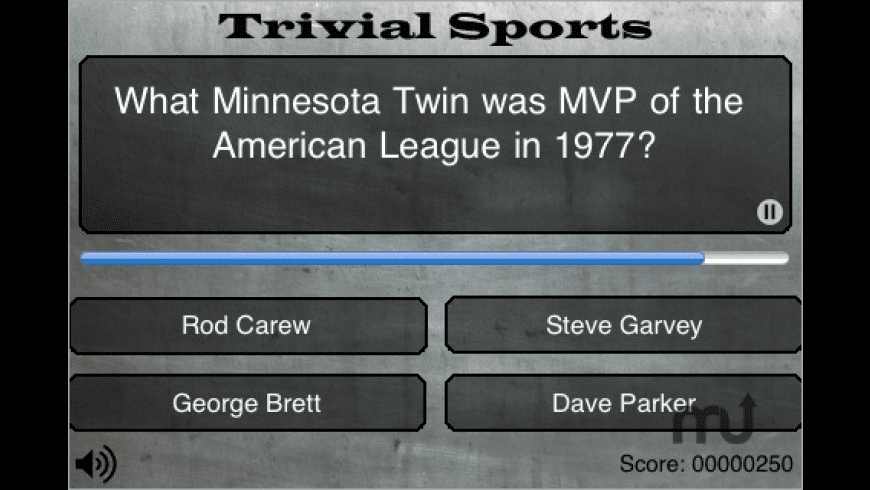 Trivial Sports for Mac - review, screenshots