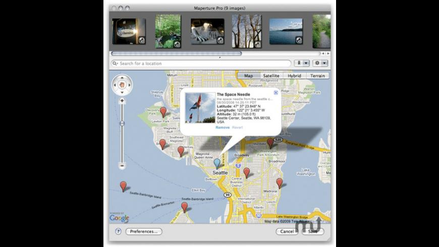 Maperture Pro for Mac - review, screenshots