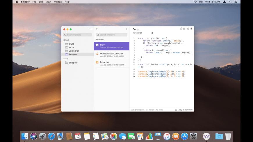 Snipper App for Mac - review, screenshots