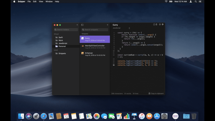 Snipper App for Mac - review, screenshots