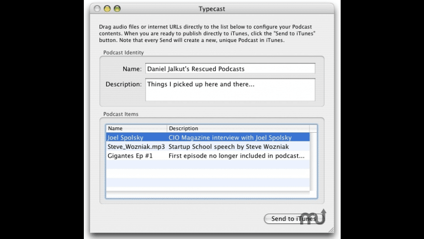 Typecast for Mac - review, screenshots