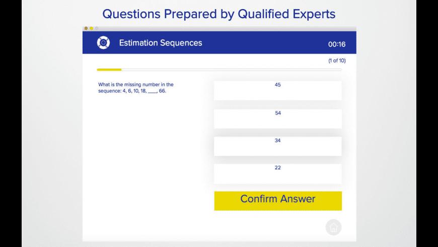 PCAT Practice Exam for Mac - review, screenshots
