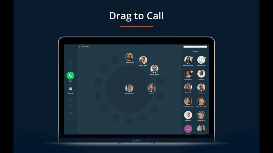 call.center for Mac - review, screenshots