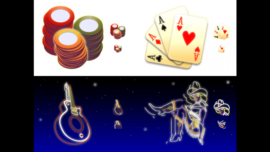 Las Vegas Icons for Mac - review, screenshots