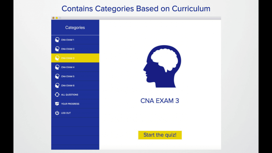 CNA Test for Mac - review, screenshots