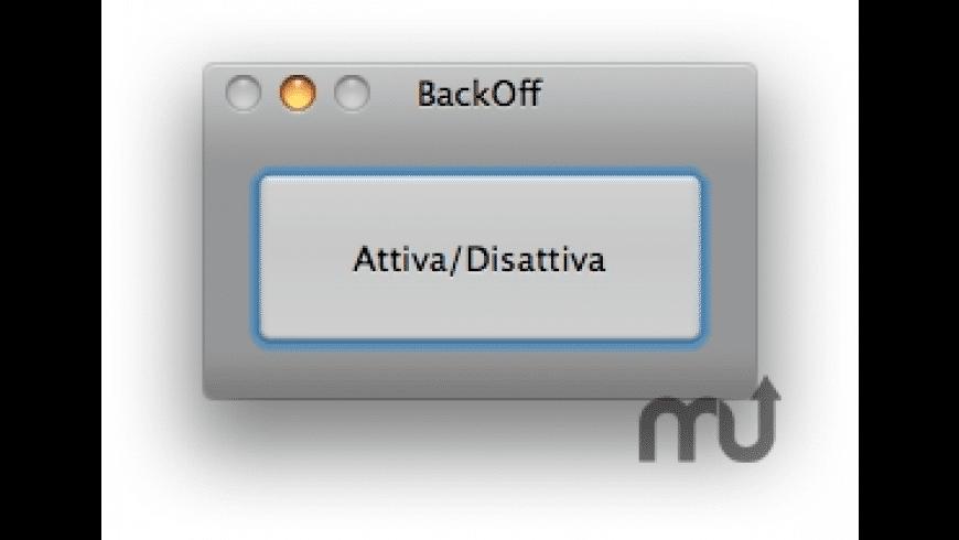 BackOff for Mac - review, screenshots