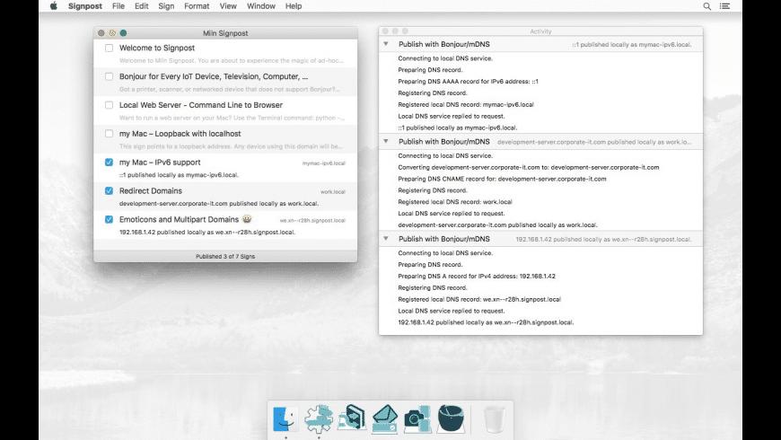 Signpost for Mac - review, screenshots