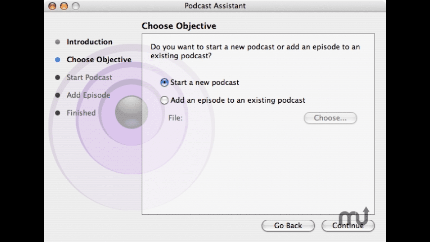 Podcast Assistant for Mac - review, screenshots
