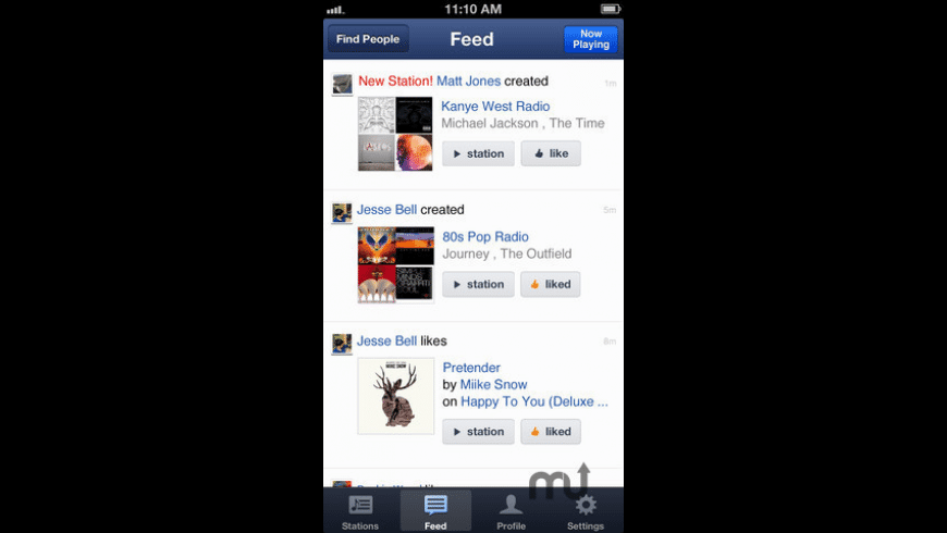 Pandora Radio for Mac - review, screenshots