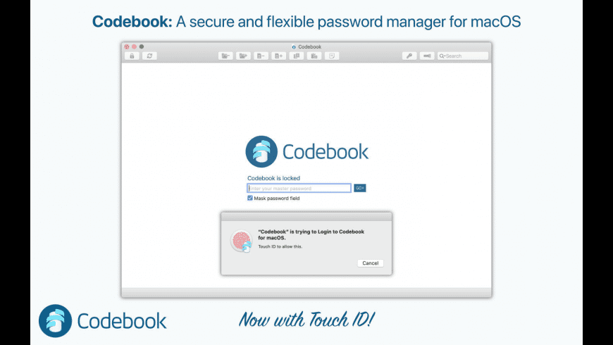 Codebook for Mac - review, screenshots