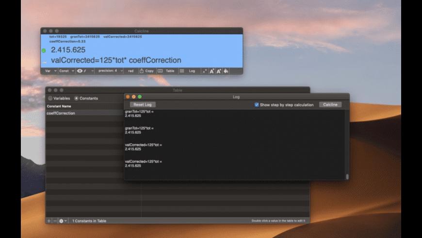 Calcline for Mac - review, screenshots