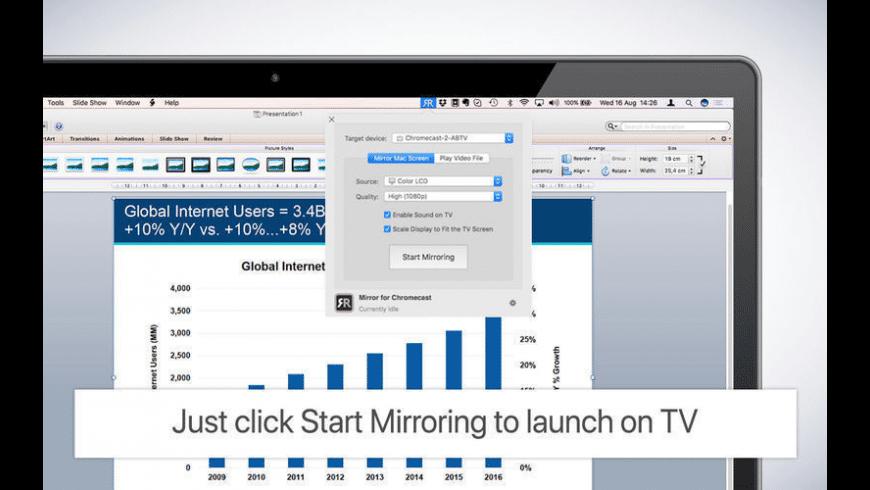 Mirror for Chromecast for Mac - review, screenshots