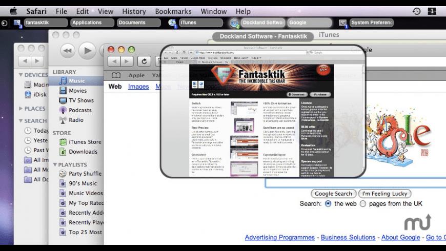 Fantasktik for Mac - review, screenshots