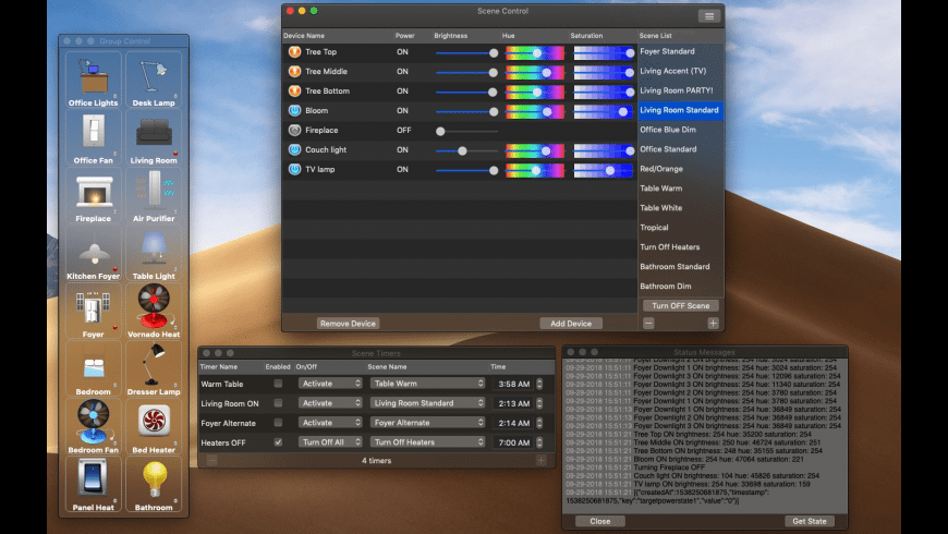 Home Control for Mac - review, screenshots