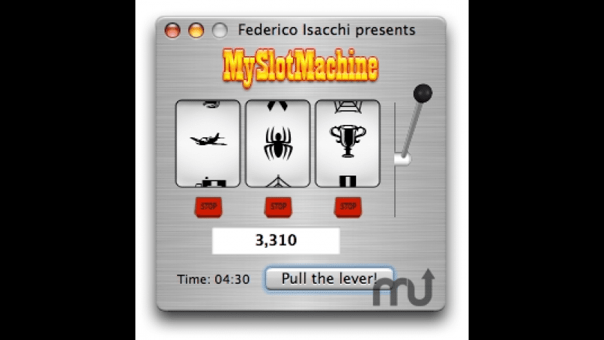 MySlotMachine for Mac - review, screenshots