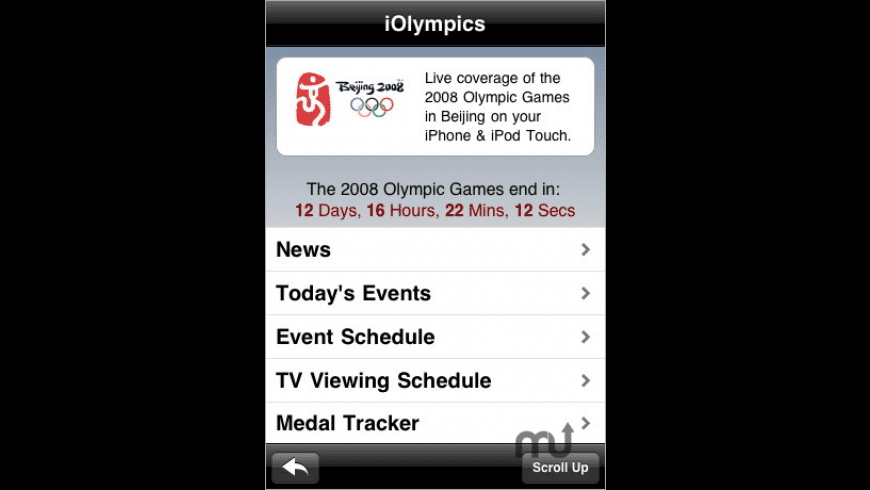 iOlympics for Mac - review, screenshots