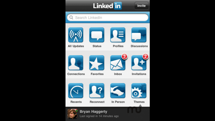 LinkedIn for Mac - review, screenshots