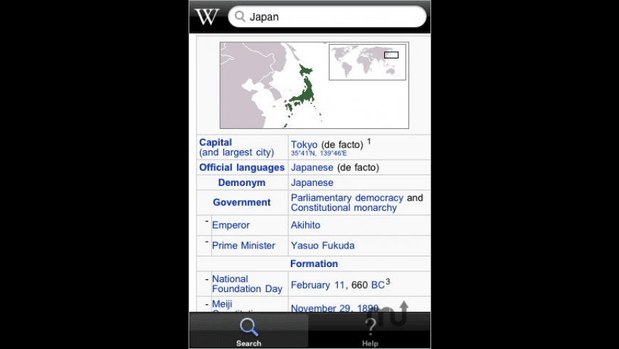 iWik: Wikipedia for the iPhone for Mac - review, screenshots